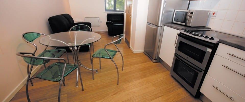 Athena Apartments Kitchen