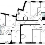 Cluster flats- ground floor