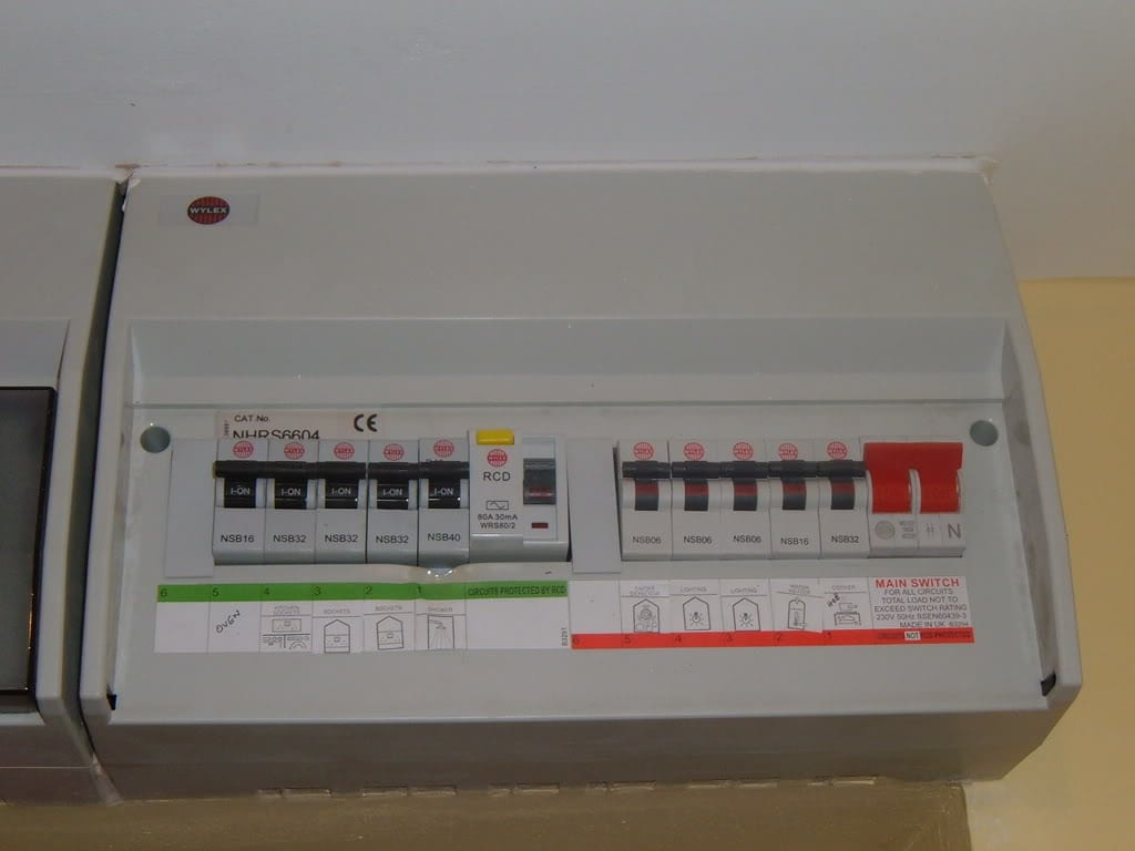 fuse box new home wiring diagram content Home Circuit Breaker Panel