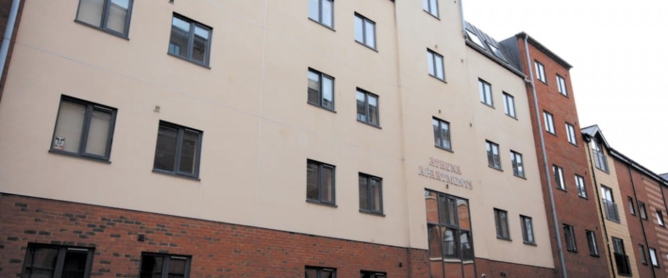 Athena Apartments Exterior