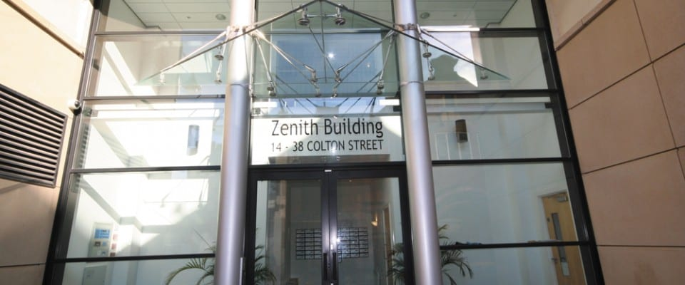 The Zenith Building Exterior