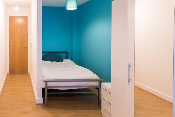 FLAT 3 BEDROOM AND HALLWAY