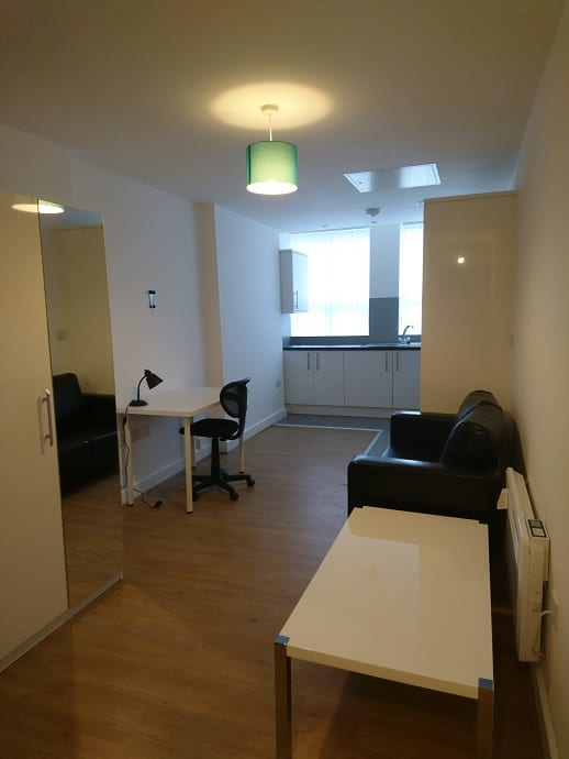 FLAT 3 HALLWAY AND LIVING AREA 2