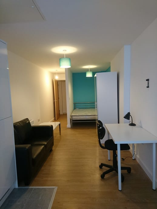 FLAT 3 HALLWAY AND LIVNG AREA